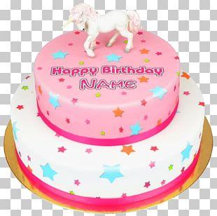 Birthday Cake Torte Sugar Cake Cake Decorating PNG