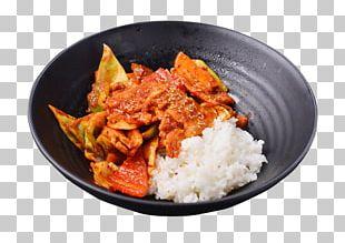 Red Curry Tteok-bokki Fried Rice Gyu016bdon Korean Cuisine PNG