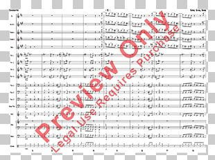 Sheet Music Gordon Goodwin's Big Phat Band Trumpet It's Not Polite To Point PNG