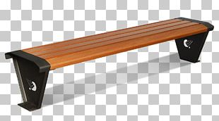 Table Bench Street Furniture PNG