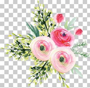 Garden Roses Flower Bouquet PNG