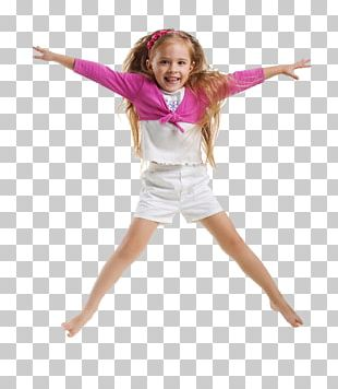 Stock Photography Child Care Girl Jumping PNG