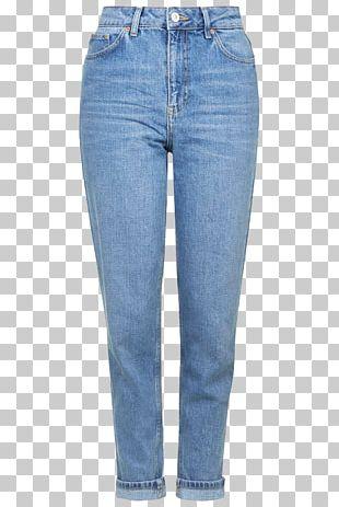 Topshop Mom Jeans Denim Slim-fit Pants PNG