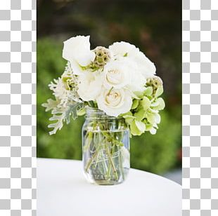 Table Centrepiece Mason Jar Wedding Flower PNG