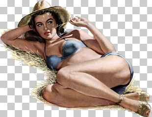 Betty Brosmer Pin-up Girl Painter Painting PNG