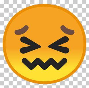 Emojipedia Face Frustration Smile PNG