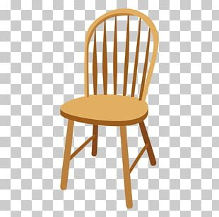 Dining Room Windsor Chair Wood Furniture PNG