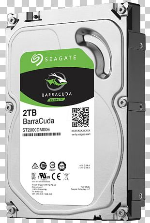 Hard Drives Seagate Barracuda Serial ATA Terabyte Seagate Technology PNG