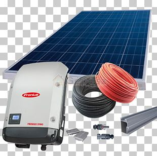 Solar Inverter Grid-tie Inverter Solar Panels Fronius International GmbH Power Inverters PNG