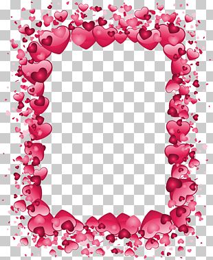 Right Border Of Heart Valentine's Day PNG