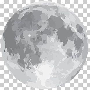 Solar Eclipse Supermoon Full Moon Moon Rock PNG