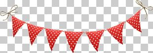 Christmas Decoration Bunting Flag Banner PNG