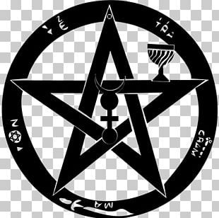T-shirt Pentagram Pentacle Satanism Witchcraft PNG