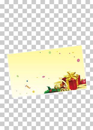 Gift Greeting Card Gratis Designer PNG
