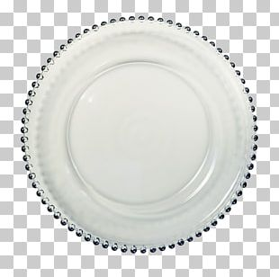 Charger Plate Glass Table Setting PNG
