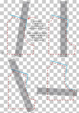 French Curve Ruler Sewing Pattern Grading Pattern PNG