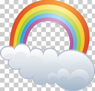 Computer Icons Weather Rainbow Cloud PNG