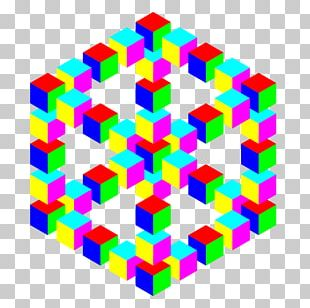 Penrose Triangle Hexagon PNG