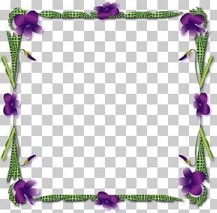 Violet Frame. PNG