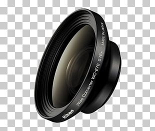 Wide-angle Lens Camera Lens Nikon WC E76 PNG