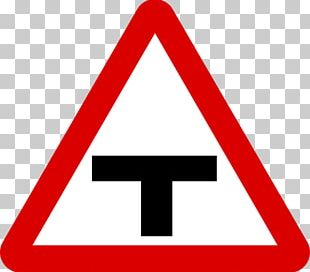 Road Signs In Singapore The Highway Code Traffic Sign Three-way Junction Warning Sign PNG