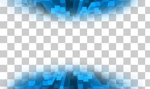Blue Graphic Design PNG