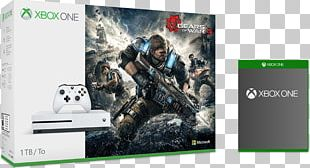 Gears Of War 4 Xbox One Controller Microsoft Xbox One S Video Game Consoles Video Games PNG