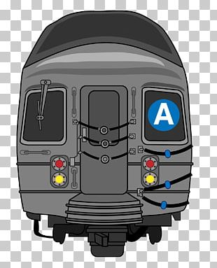 New York City Subway Rapid Transit Train PNG