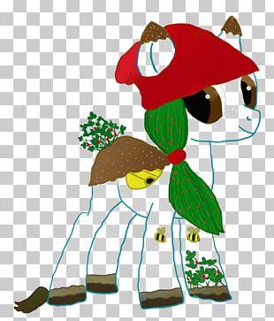 Reindeer Horse Christmas Ornament PNG