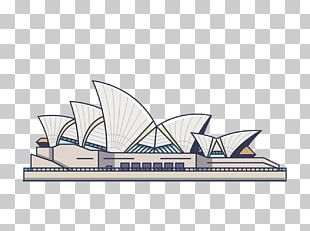 Sydney Opera House City Of Sydney Cartoon Illustration PNG