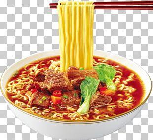 Instant Noodle Beef Noodle Soup Lo Mein Food PNG