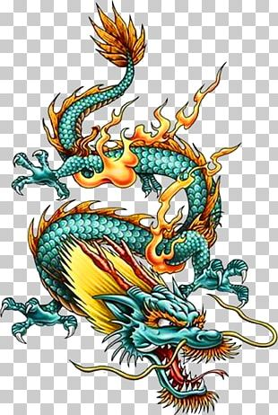 China Chinese Dragon Tattoo Legendary Creature PNG