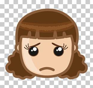 Sadness Face Girl PNG