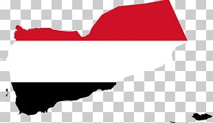 Flag Of Yemen Blank Map PNG