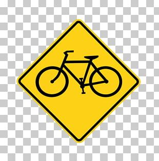 Bicycle Traffic Sign Cycling Manual On Uniform Traffic Control Devices PNG