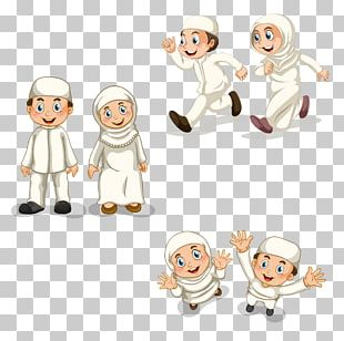 Muslim Islam Child Illustration PNG