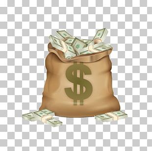 Money Bag Dollar Sign Coin PNG