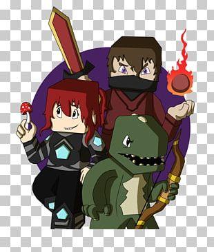 The Yogscast Minecraft Fan Art Rythian PNG