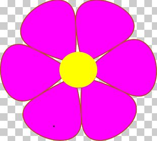 The Blue Flower PNG