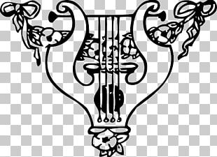 Lyre Harp Musical Instruments PNG
