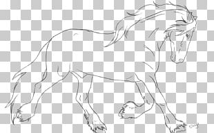 Mustang Friesian Horse American Paint Horse Line Art American Quarter Horse PNG