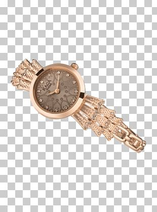 Watch Strap Titan Company Gold Analog Watch PNG