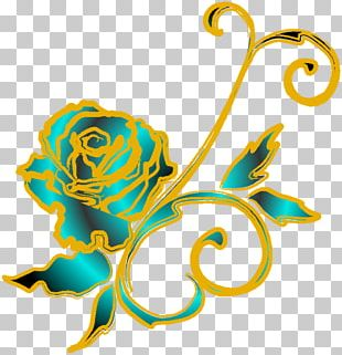 Black Rose Flower PNG