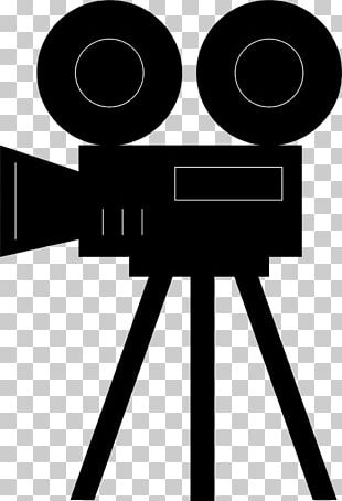 Photographic Film Movie Camera Drawing PNG