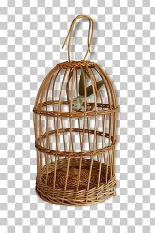 Bird Cage Budgerigar Domestic Canary Wicker PNG
