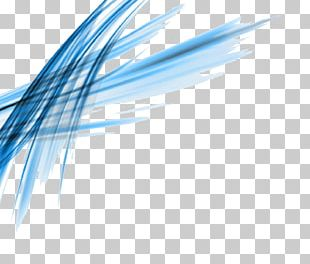 Blue Angle Shading PNG