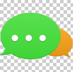 Smiley Green PNG