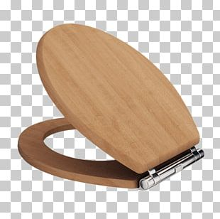 Wooden Toilet Seat PNG