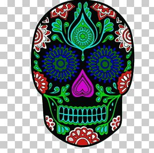 Calavera Mexican Cuisine Skull Day Of The Dead PNG