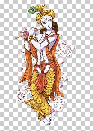 Krishna Janmashtami Radha Krishna Deity PNG